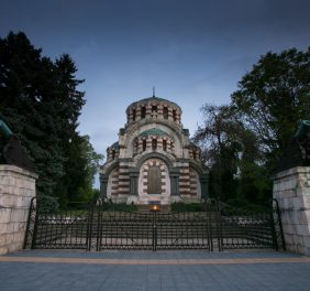 """Mausoleum-Chapel """"St.George the Martyr"""""""