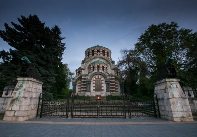 "Mausoleum-Chapel ""St.George the Martyr"""